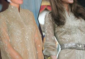 Rania de Jordanie porte la même robe qu'en 1999 !