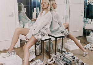 L'instant mode : Karolina Kurkova se déhanche pour Net-A-Porter