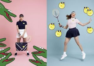 L'instant mode : la collection capsule Yazbukey x Lacoste