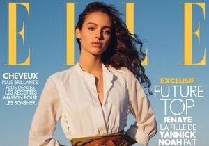 Le top Jenaye Noah en couverture de ELLE cette semaine