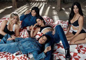 Les soeurs Kardashian, nouvelles égéries glamour pour la campagne Calvin Klein