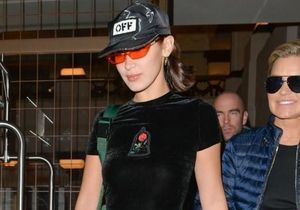 On veut le total look velours de Bella Hadid