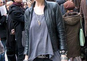 Défilés parisiens : les fashionistas en cuir