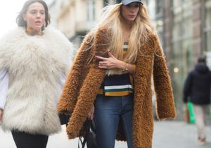 Street style : portons de la fausse-fourrure !