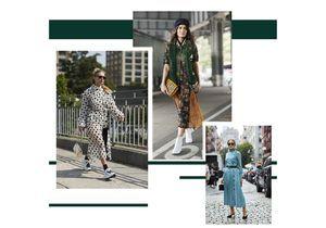 Street style : toutes en robe !