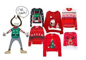 13 pulls de Noël pour patienter jusqu'au 25 décembre
