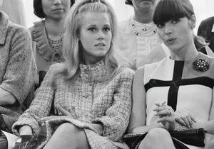 A quoi ressemblaient les premiers rangs des défilés dans les années 60?