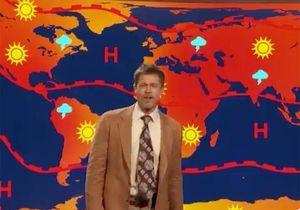 Brad Pitt transformé en monsieur météo ringard pour s'en prendre à Donald Trump