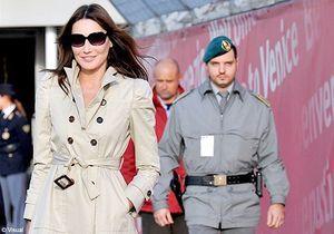 Carla Bruni : on la verra moins sur la scène politique