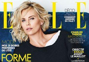 Découvrez les coulisses du shooting de Charlize Theron pour ELLE
