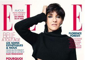 Florence Foresti en couverture de ELLE cette semaine!