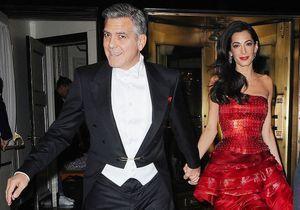 George Clooney parle de ses jumeaux : « Je dois enlever le vomi de mon smoking »