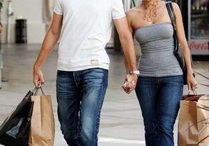 Halle Berry et Gabriel Aubry : shopping en amoureux