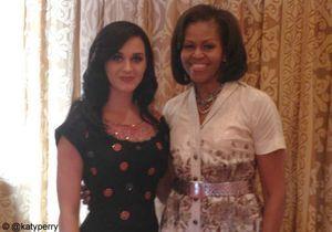 Katy Perry fête son anniversaire avec Michelle Obama