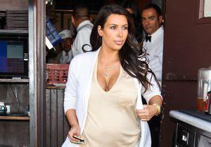 Kim Kardashian rejoindrait Kanye West à Paris pour accoucher