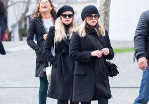 Reese Witherspoon et son sosie de fille, Ava, en balade dans les rues de Paris