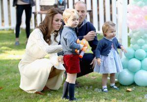Vidéo : la princesse Charlotte et le prince George, deux enfants ordinaires qui s'éclatent !