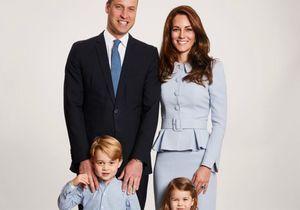 Will, Kate, George et Charlotte : découvrez leur portrait de famille