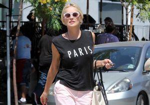 Les stars adorent les T-shirts à message français