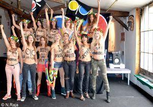 Magazine femmes ukrainiennes protestation