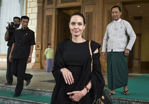 Angelina Jolie invitée par Aung San Suu Kyi en Birmanie