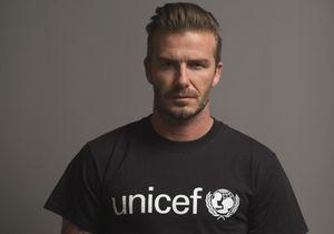 David Beckham dénonce la maltraitance des enfants avec ses tatouages