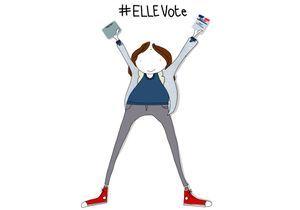 #ELLEvote : la mobilisation des internautes en 10 clichés