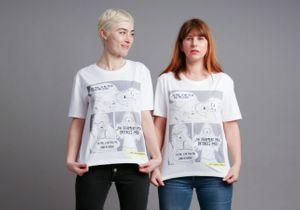 Endométriose : un T-shirt et une vidéo pour briser le tabou