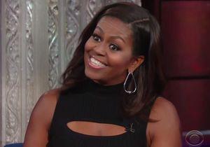 #PrêtàLiker : Michelle Obama imite son mari sur un plateau télé et déclenche l'hilarité du public