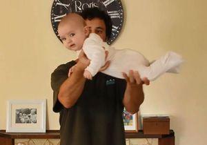 #Prêtàliker : quand un jeune père nous apprend à porter un bébé avec humour