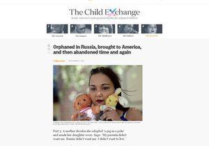 Sur Internet, ils échangent leurs enfants adoptés