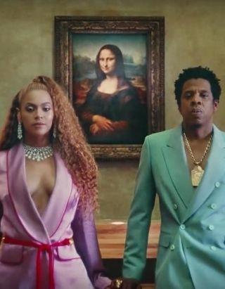 Surprise ! Beyoncé et Jay Z dévoilent leur nouvel album et un premier clip tourné au Louvre