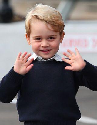 Prince George: les plus belles photos du royal baby