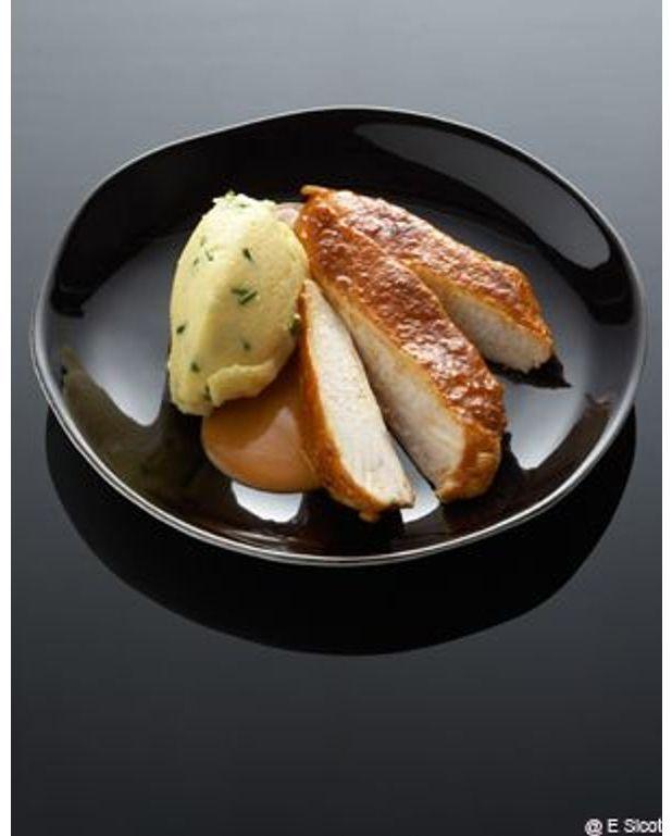 Filet de poulet au sat pour 6 personnes recettes elle table - Filet de poulet grille recette ...