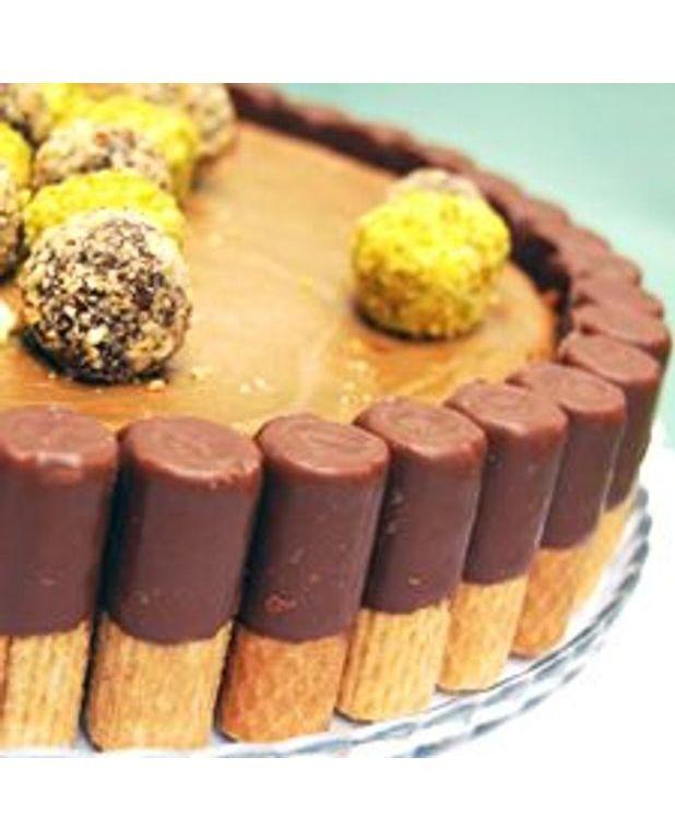 Gâteau Au Chocolat Glaçage Aux épices: Gâteau Au Fromage Aux Chocolat Et Tourbillon De Café Pour