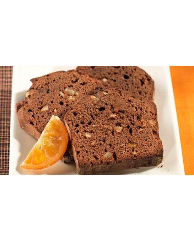 Gâteau Au Chocolat Glaçage Aux épices: Gâteau Au Chocolat Et Aux écorces D'oranges Pour 4