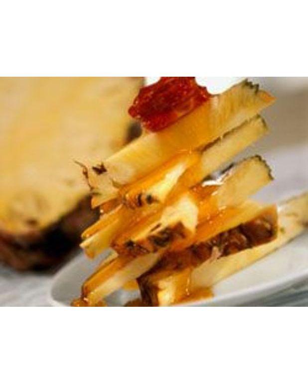 Mangues et ananas la plancha pour 6 personnes recettes for Cuisiner a la plancha