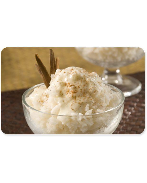 Riz au lait de coco recettes elle table - Riz au lait de coco ...