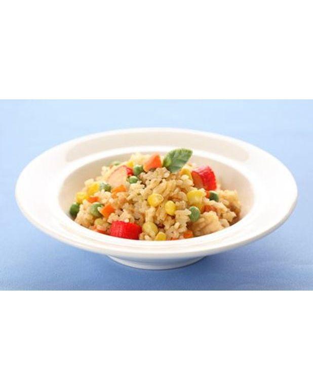 salade de riz au surimi pour 6 personnes recettes elle table. Black Bedroom Furniture Sets. Home Design Ideas