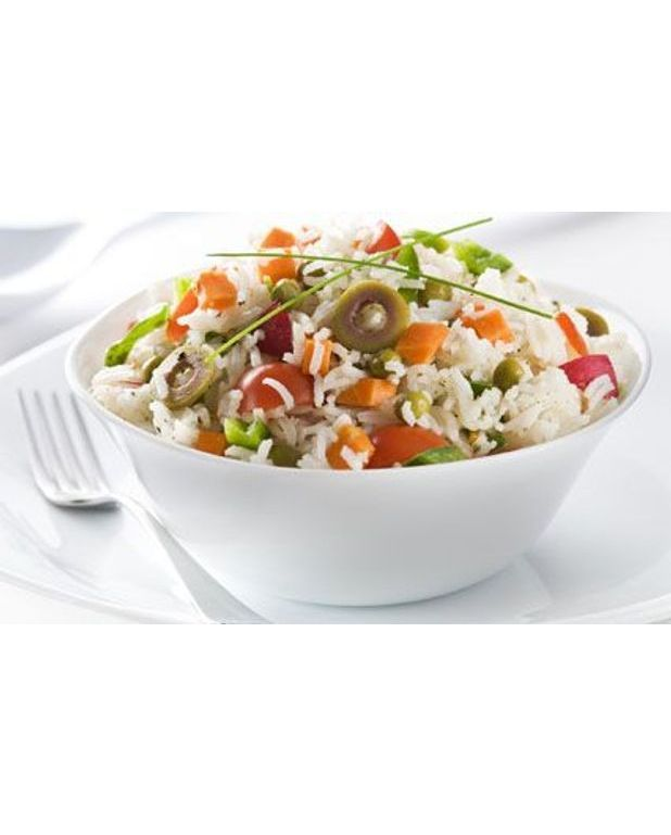 salade de riz color e pour 6 personnes recettes elle table. Black Bedroom Furniture Sets. Home Design Ideas