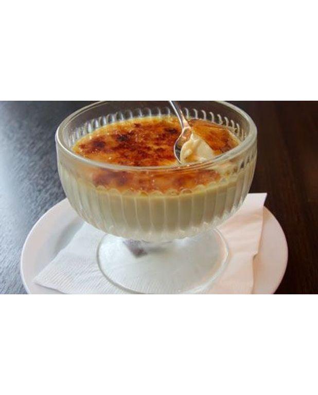 Verrines De Crème Brûlée à La Noix De Coco Pour 6