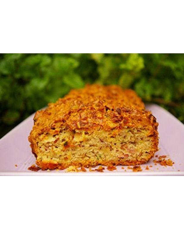 Cake Courgettes Lard