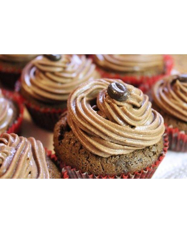 Cupcake cappuccino gla age mascarpone pour 12 personnes recettes elle table - Glacage cupcake facile ...