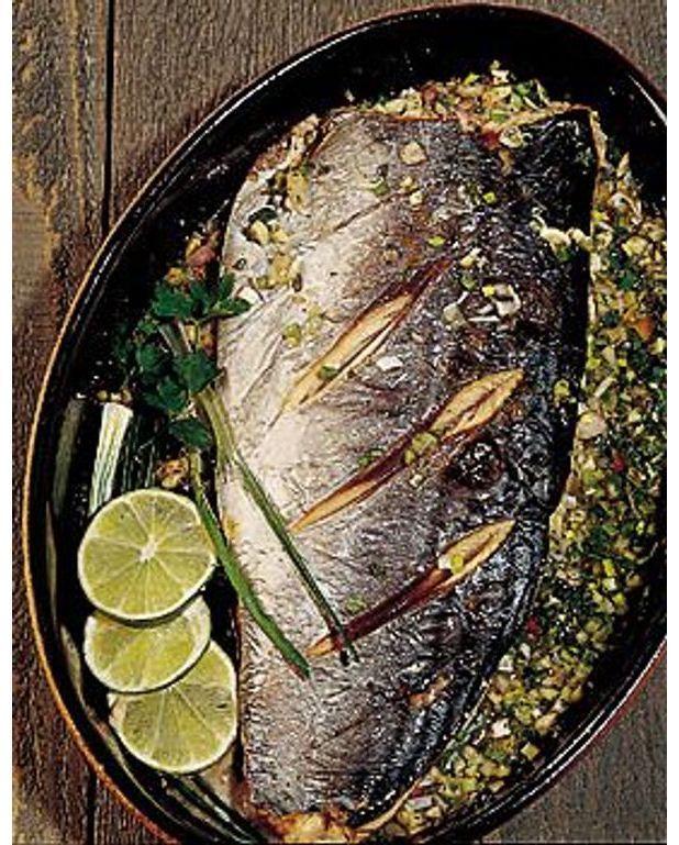 Recette de poisson grille au four un site culinaire populaire avec des recettes utiles - Maquereau grille au four ...
