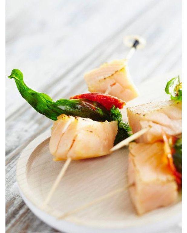 Brochettes de lotte l 39 espagnole recettes elle table - Recette de cuisine en espagnol ...