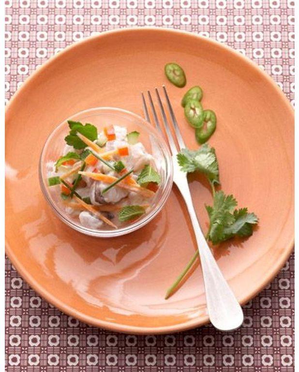 ceviche de poissons la tahitienne pour 1 personne recettes elle table. Black Bedroom Furniture Sets. Home Design Ideas