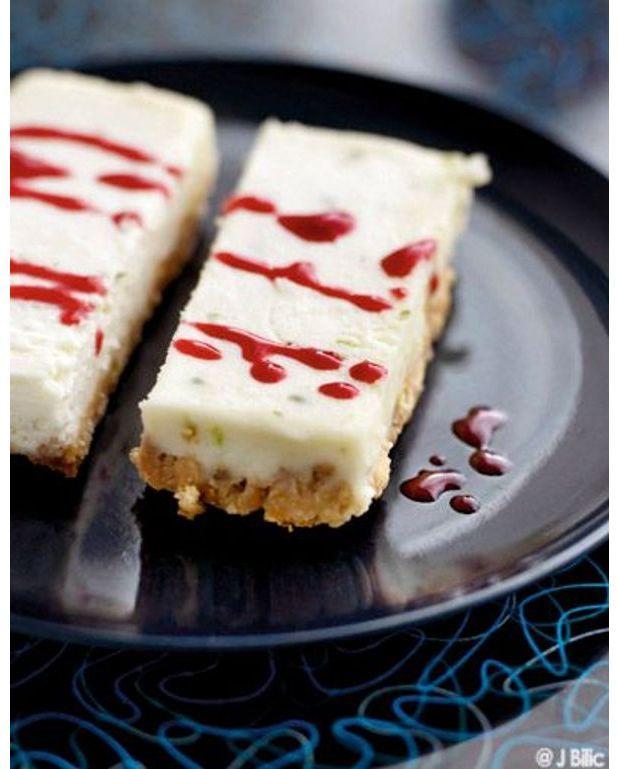cheesecake sans cuisson pour 6 personnes recettes elle. Black Bedroom Furniture Sets. Home Design Ideas
