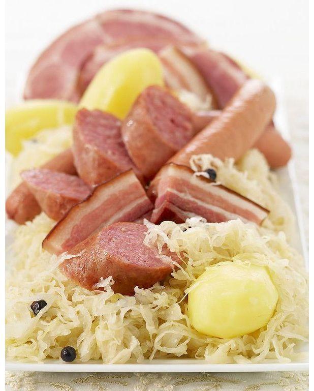 Choucroute la lorraine recettes elle table - C est au programme recettes de cuisine ...