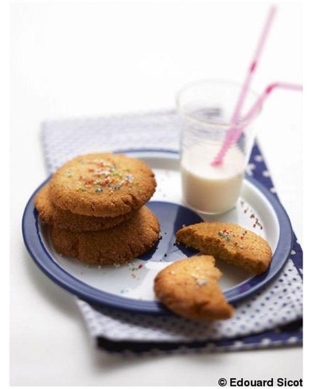 cookies au beurre de cacahu te pour 5 personnes recettes. Black Bedroom Furniture Sets. Home Design Ideas