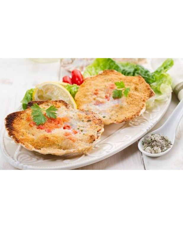 coquilles saint jacques en gratin pour 4 personnes recettes elle table. Black Bedroom Furniture Sets. Home Design Ideas